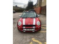 Mini Cooper convertible full leather interior full-service history HPI Clear May px