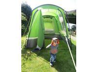 Higear Aura 3 tent, porch, footprint and carpet