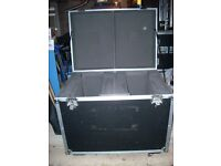 large moving heads flightcase