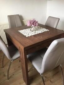 NEXT extendable dining table (table only)
