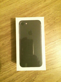 Brand New Apple iPhone 7 32GB Black Unlocked Sealed