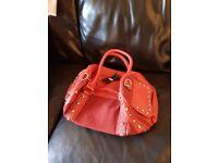 JN Gianni red handbag