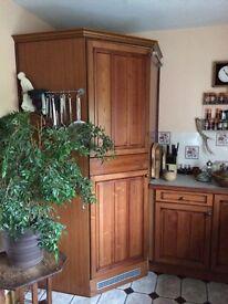 Norcool corner refrigerator, 1010x1010mm, 2100mm high, 1450litres, good order, modular design