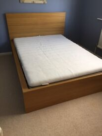 Spare bedroom Ikea Double Bed