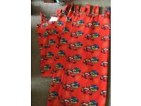 Disney Cars Single bed quilt cover and curtains