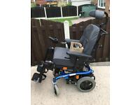 INVACARE SPECTRA XTR ELECTRIC WHEELCHAIR WITH TILT IN SPACE CARER AND USER CONTROLLED