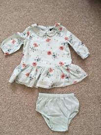 Gap top baby girl 3-6 month