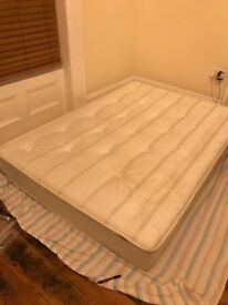 Double mattress+ duvet+pillow