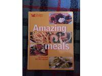 5 recipe books - cordon bleu, budget recipes, vegetarian, cakes, pasta