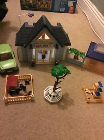 Playmobil vet sets for sale.
