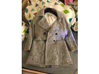 Grey Woolen Zara Coat