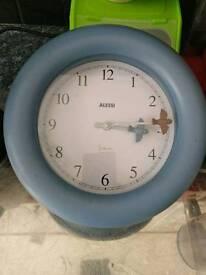 Alessi clock and jar