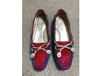 Women's Marc Joseph Russell and Bromley Flats UK Size 4.5 (EU 39.5)