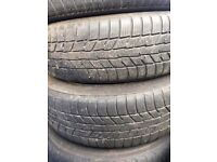 Mini Steel Wheel 2 of with excellent matching M+S tyres 175/65R15