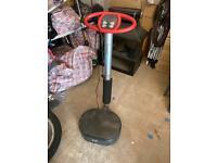 Standing vibration machine