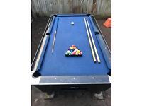 Supreme Sam Bison 8ft pool table.