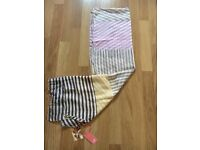 White Stuff patch striped scarf .New with tags