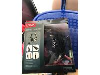Logik wired headset and mic