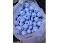 50 titleist dt trisoft golf balls in grade A mint condition £30 or 100 for £50