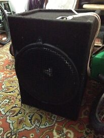 Car 15' speaker and amp