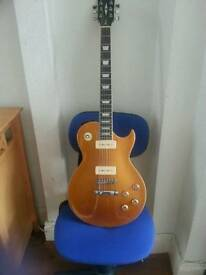 Les paul gold top copy
