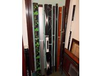 ***** BARGAIN CHEAP One/Two or 3/4 Piece Snooker or Pool Cue Cases BARGAIN *****