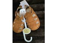 Pair of brand new baby boys shoes for age 9-12 months £2