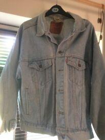Vintage Levi Denim Jacket Medium/Large