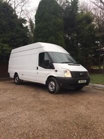 2013 FORD TRANSIT 125 T350 XLWB JUMBO RWD HIGH ROOF (ONE OWNER) (FULL SERVICE HISTORY)
