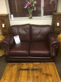 Thomas Lloyd leather sofa / suite * free furniture delivery *