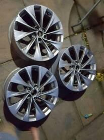 Vauxhall Sri alloy wheels