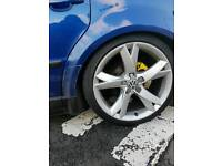 "18"" audi a5 alloys and tyres 5x112"