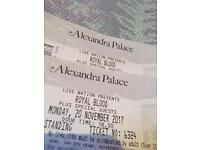 ROYAL BLOOD LONDON TICKETS