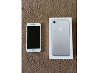 Iphone 7 silver unlocked 32gb