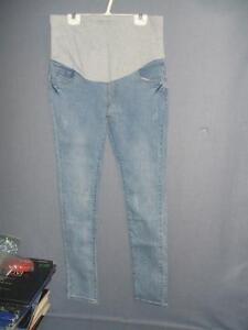 "Women`s Maternity Jeans NWT Hip: 16"" Length 41"""