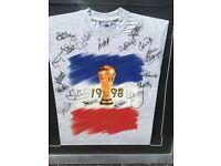 1998 World Cup Scotland T-shirt framed