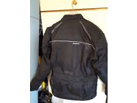 Motorcycle clothing .