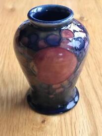 Moorcroft mini vase