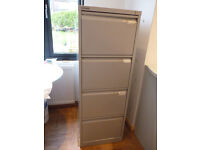 Bisley filing cabinet used no key collect Headingley
