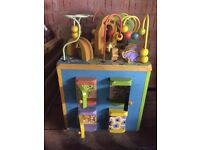 Baby zoo wooden toy