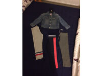 2-3 Years girl Clothes -from a pet&skome free home (bundle of clothes-leggings+jacket)
