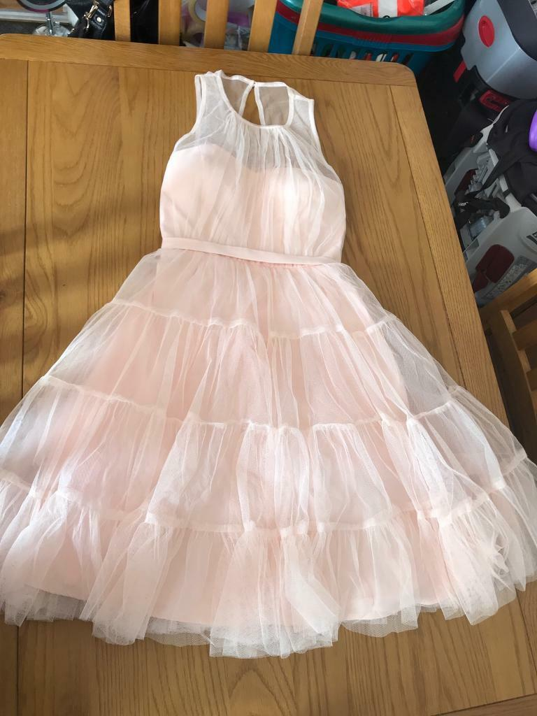 Nude Lace Prom Dress Size 10   in Sunderland, Tyne and Wear   Gumtree