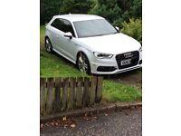 Audi A3 S Line 2013 3 door White 2 litre TDI 150 bhp