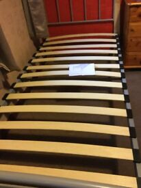 One single metal bed frame