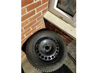 Winter wheels and tyres NEW !