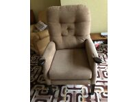 High back ortho chair - excellent condition, hardly used