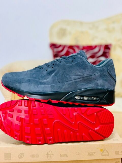 nike air max 90 grey and red suede black hyperfuse all sizes inc delivery paypal Red Sole xx   in Hockley, West Midlands   Gumtree