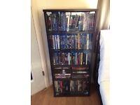 Dvd shelving unit