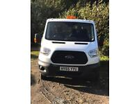 Transit Double Cab Tipper 2015