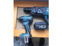 Makita hummer drill + impact